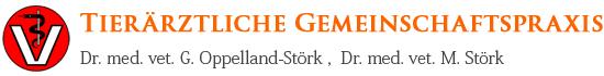 Tierärztliche Gemeinschaftspraxis Dr. G. Oppelland-Störk und Dr. M. Störk - Logo